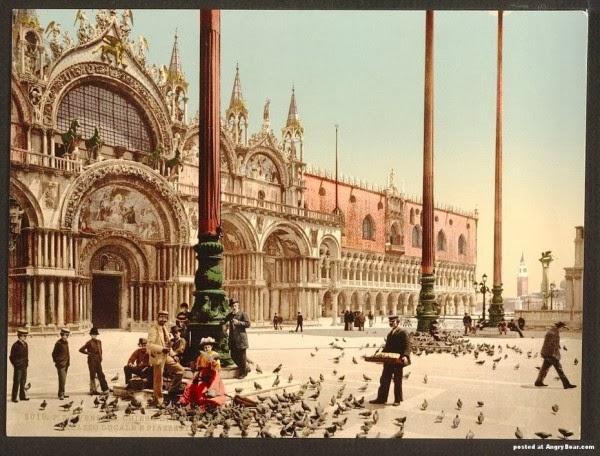 старинные фото венеции италия