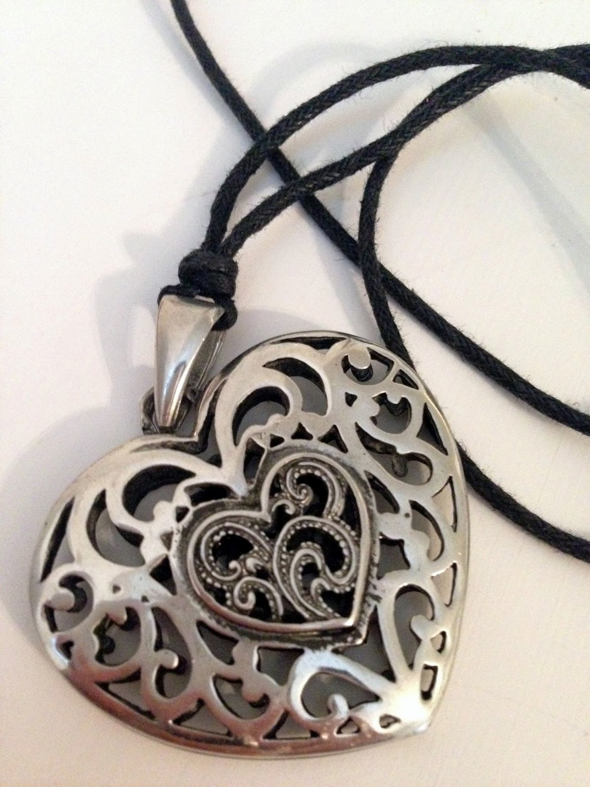 A picture of a celtic necklace called burning love