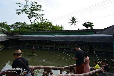 tempat makan dan pemancingan ikan di Jogja