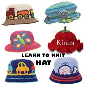 Learning to Knits : Hats, Video tutorial Panduan Membuat Topi dengan