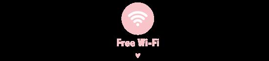☆Free Wi-Fi☆