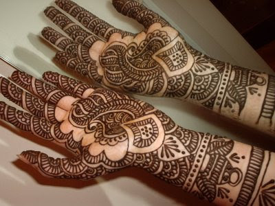BEAUTIFUL MANGO DESIGNS FOR MEHANDI