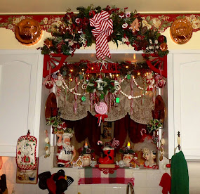 Sweet Christmas Kitchen,(The Other Half, Part 9,Christmas Home Tour
