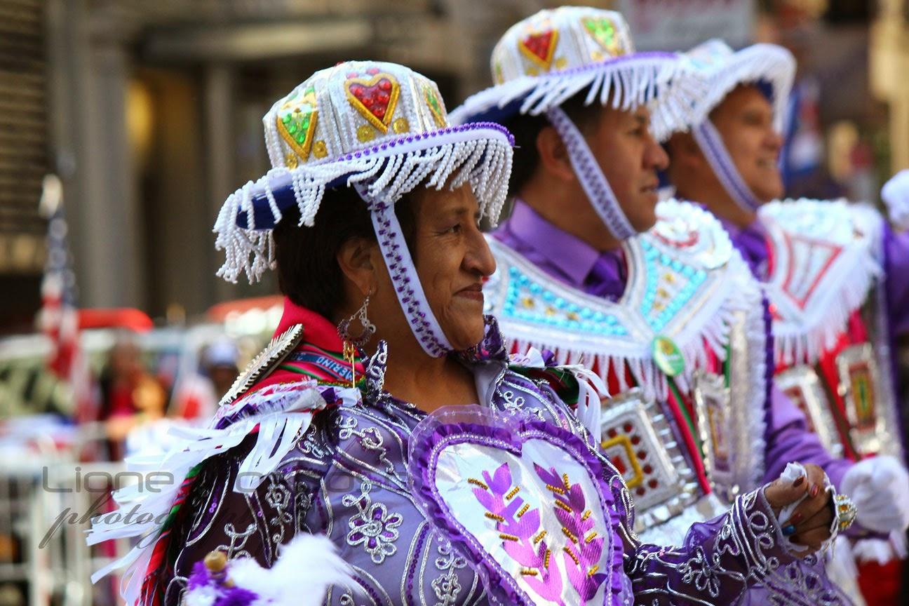 desfile de la hispanidad de manhattan New York 2014