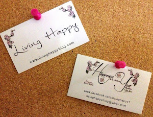 Living Happy Business Cards