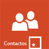 crear contactos favoritos