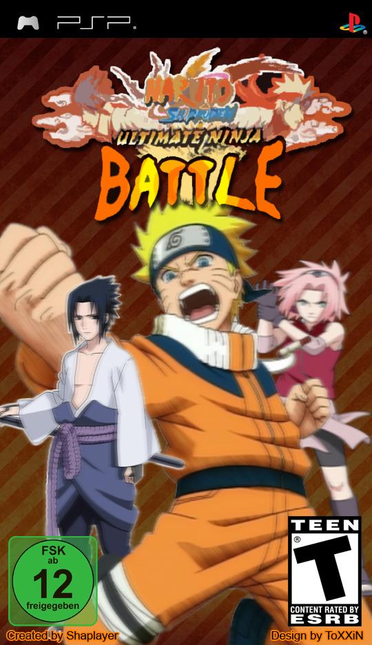 [PSP] Naruto Ultimate Ninja Battle Coverwithuskandpegi