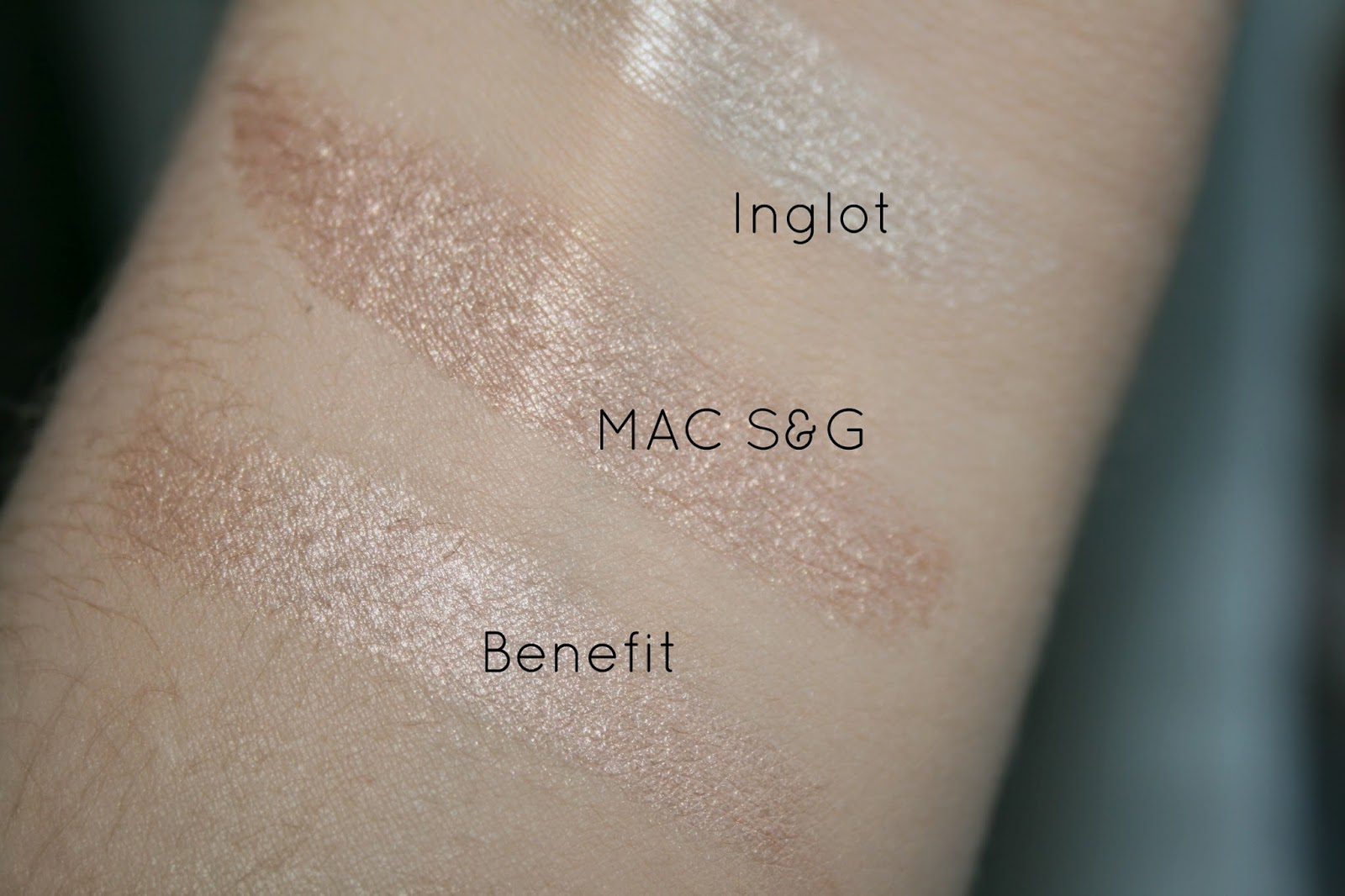 MAC Soft and Gentle vs Benefit Watts Up