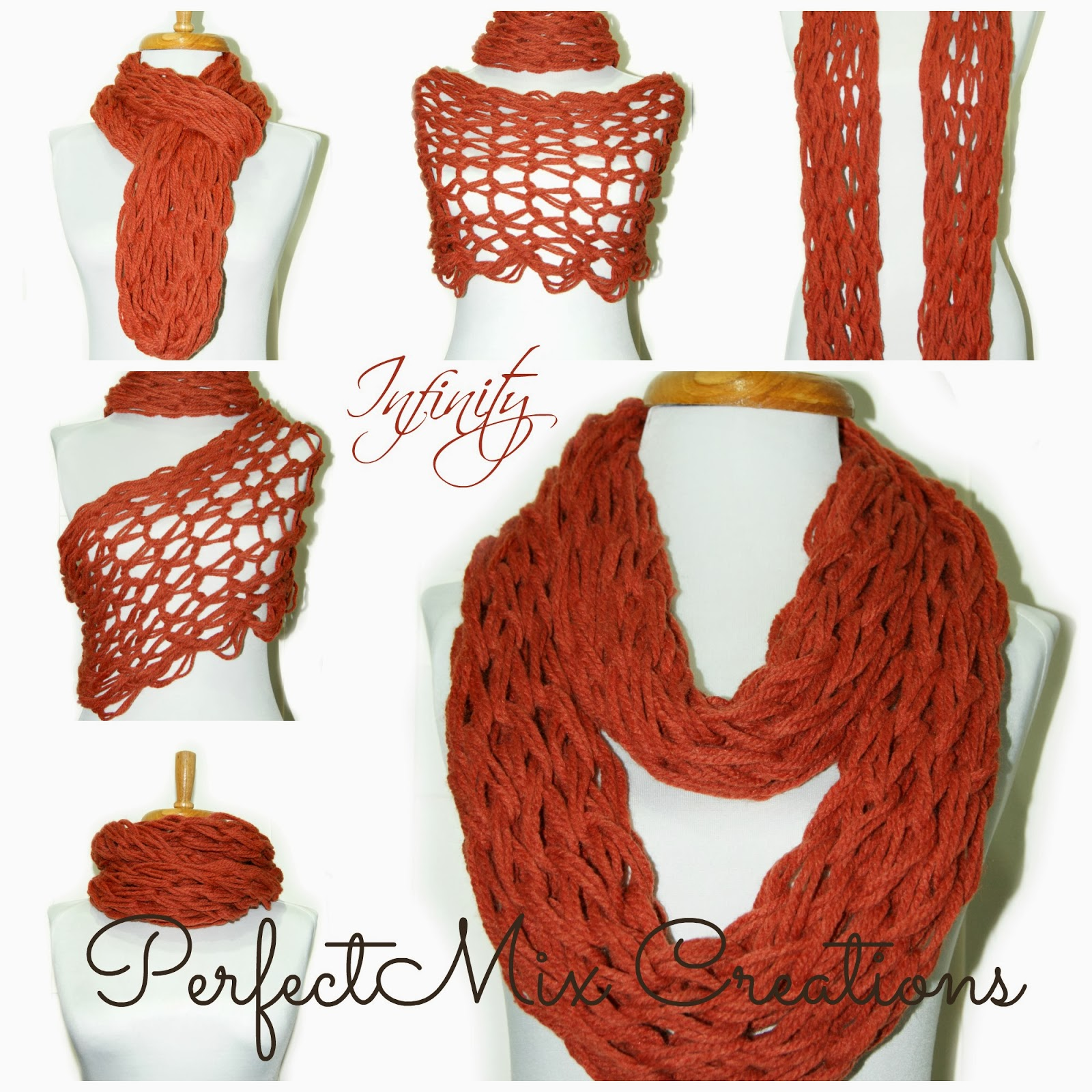 Knitting Scarf Ideas : Mixin it up with daperfectmix infinity scarf and arm