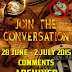 Archived Comment Section - 28 June to 2 July 2015 to Active