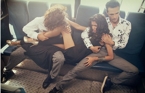 Indians angry with 'bus gang rape' photo shoot & tradition