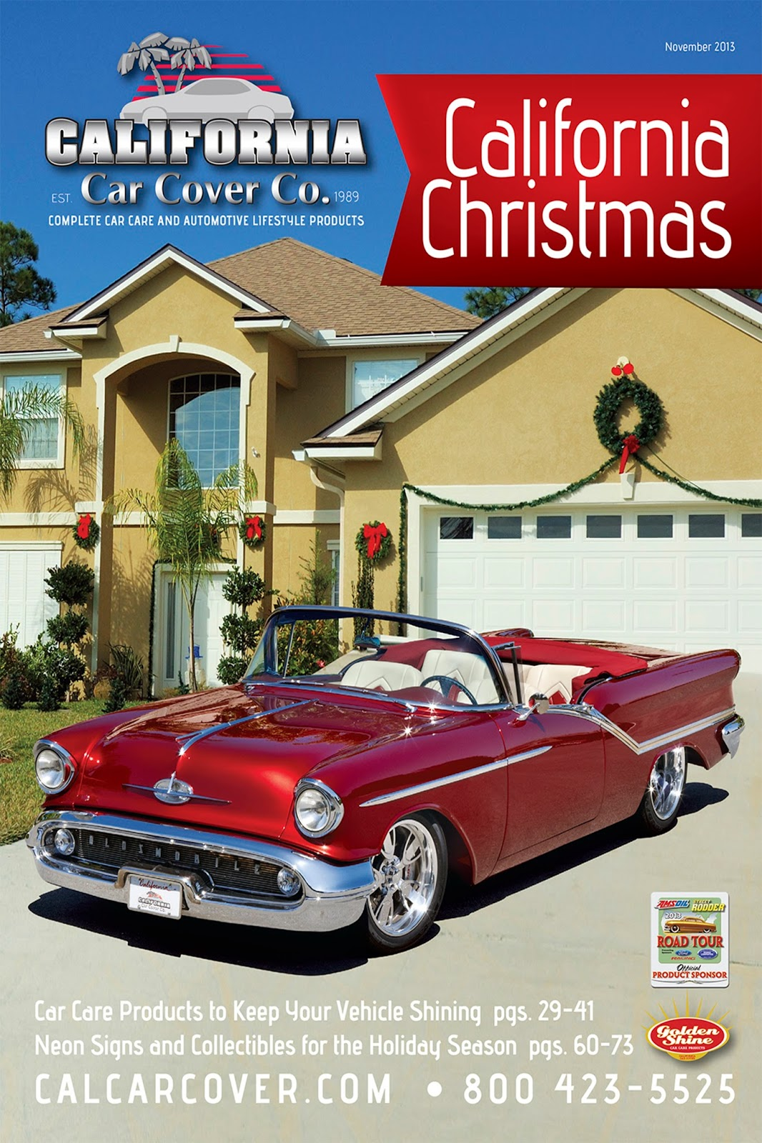 Covering Classic Cars : California Christmas with the 1957 ...