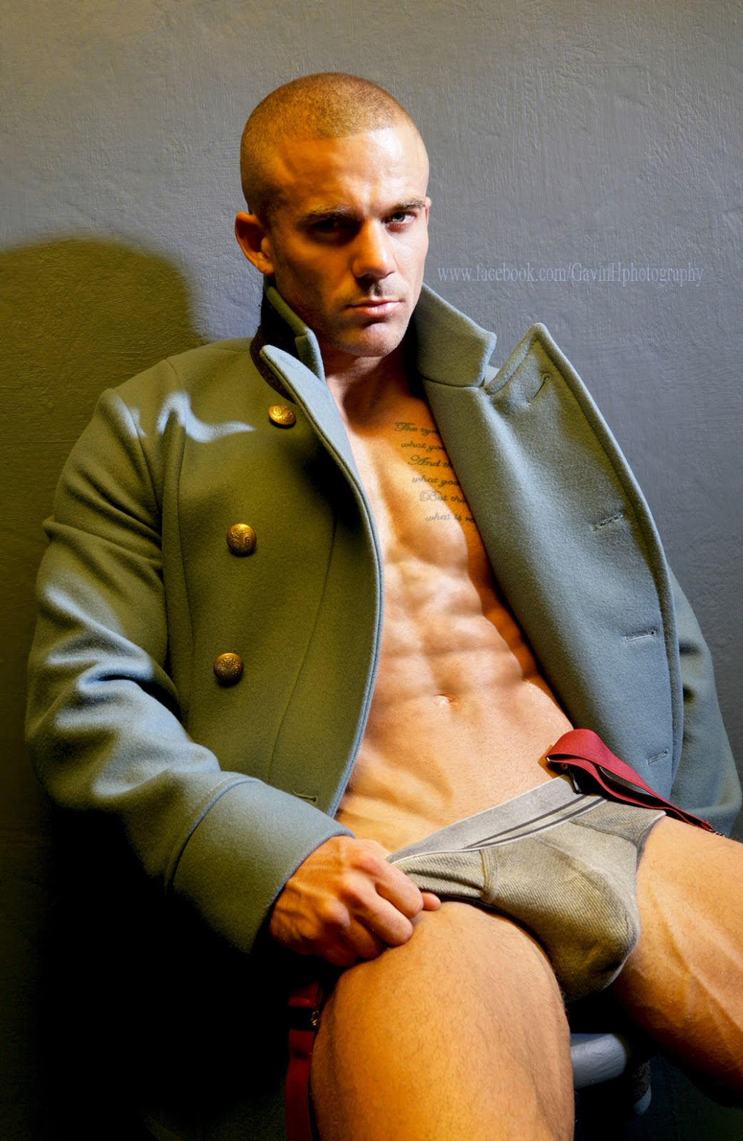 Harsh Judgement editorial by Gavin Harrison for Dominus magazine - model Ashley Morris