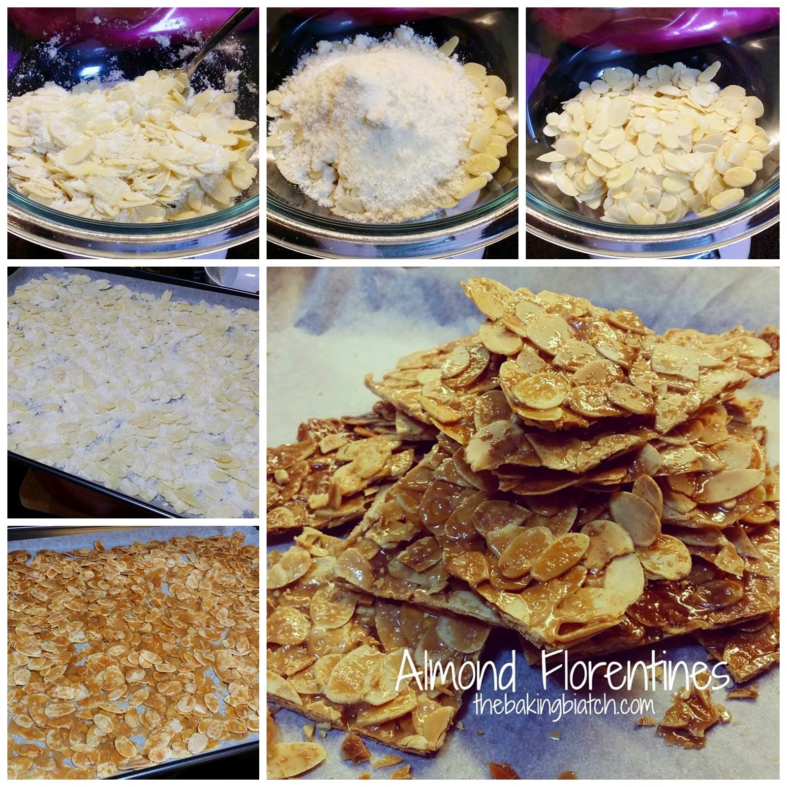 Easy almond florentines recipes