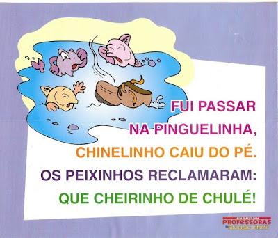 Parlendas Ilustradas - Peixinhos