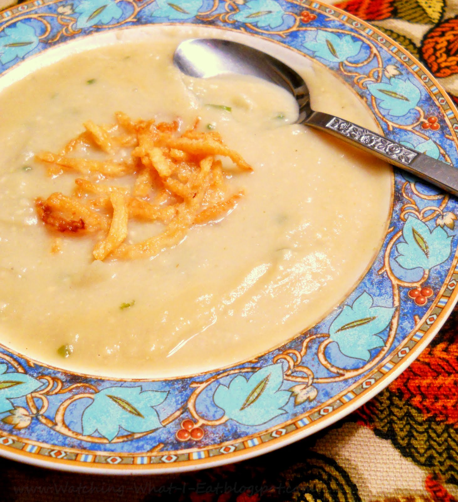 ... Mock Custard Pie & Cream of Onion Soup ~ low fat, low carb, low cal