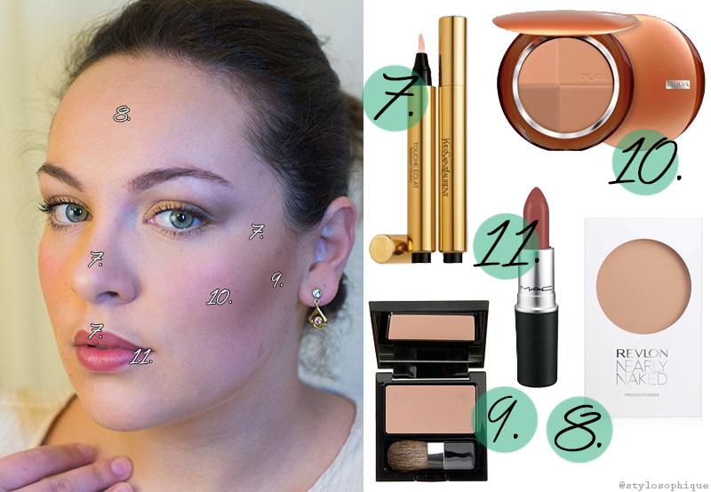 Make up, tutorial, trucco, Eva Herzigova, Project Runway Italia, FoxLife, Iris Tinunin, Beauty Blogger