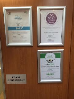 TripAdvisor Northlink Ferry restaurant