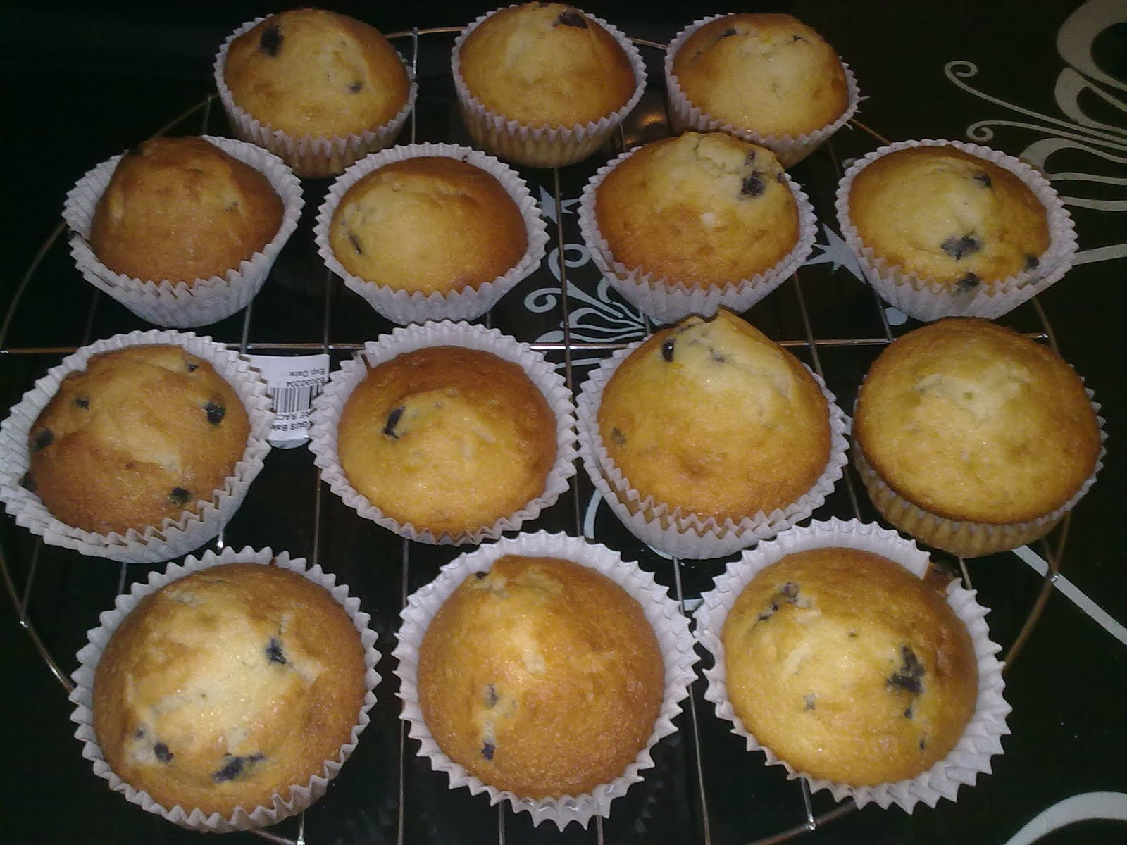 Muffins (BB, Vanilla, Kiwi, Chocolate, Pineapple)