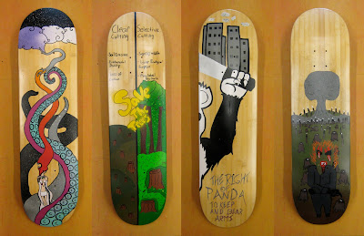 Painted%2BOSF%2BBamboo%2BSK8boards%2B3 Oasis Skateboard Factory