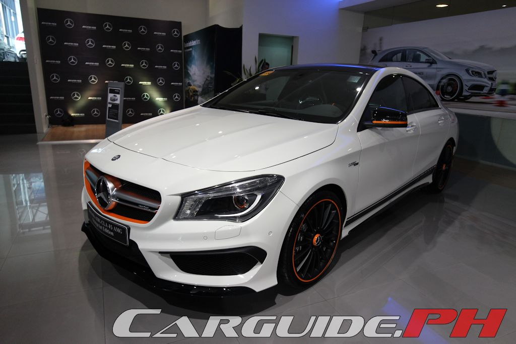 mercedes benz philippines launches amg gt s cla 45 orangeart edition gla 45 philippine car. Black Bedroom Furniture Sets. Home Design Ideas