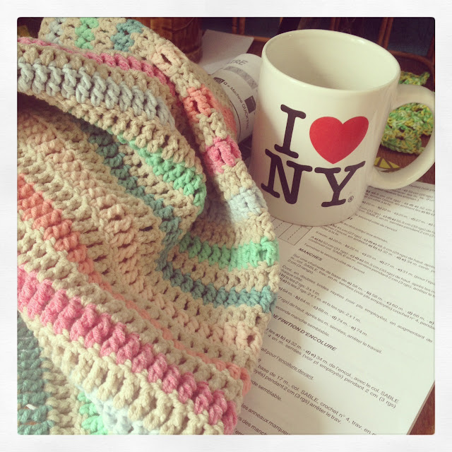 crochet,thé,phildar,coton,summer