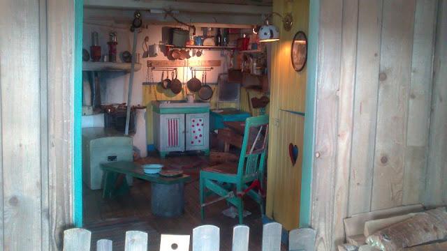 En el interior de la casa de Pippi Längstrump
