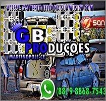 """DIVULGADOR """"GB PRODUÇÕES"""" DE MARTINÓPOLE"""