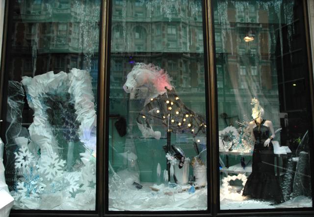 First look harvey nichols holiday windows 2011 in london for Harvey windows