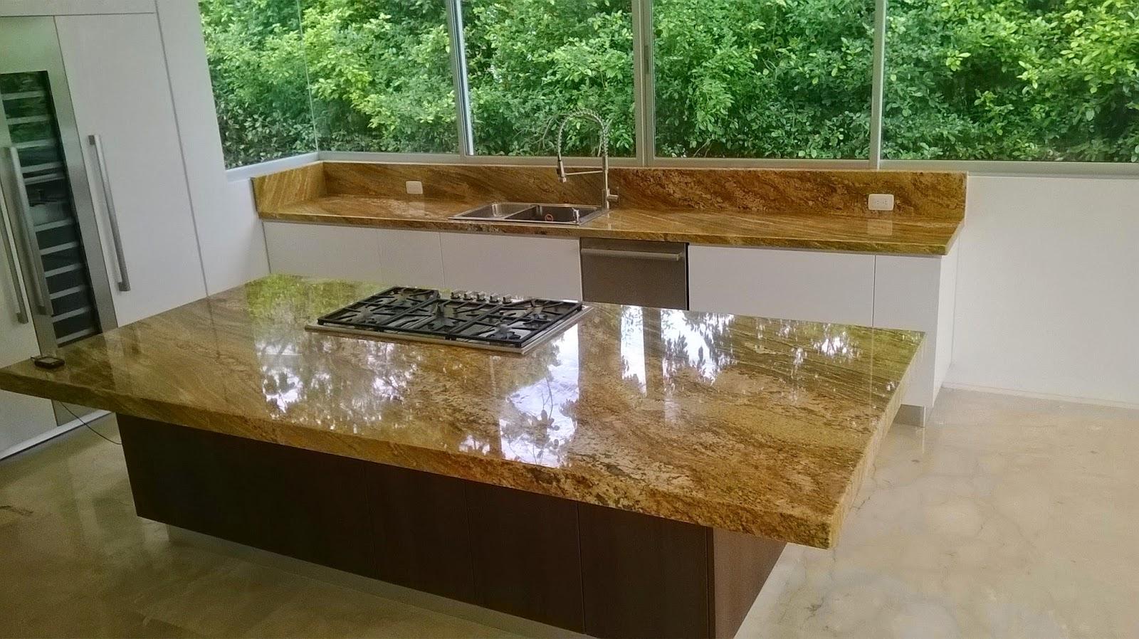 Mesones para cocina marmoles rocadura for Marmol de cocina precio