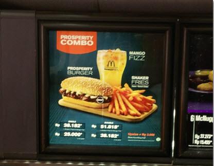LaDiosa Kitchen: Mengejar Keberuntungan: McD Beef