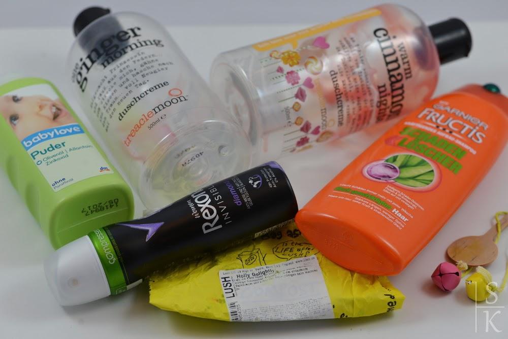 Aufgebraucht und Nachgekauft im Februar 2015 (Körperpflege)