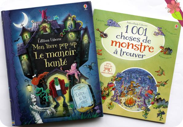 Mon livre pop-up Le manoir hanté et 1001 choses de monstre à trouver - éditions Usborne