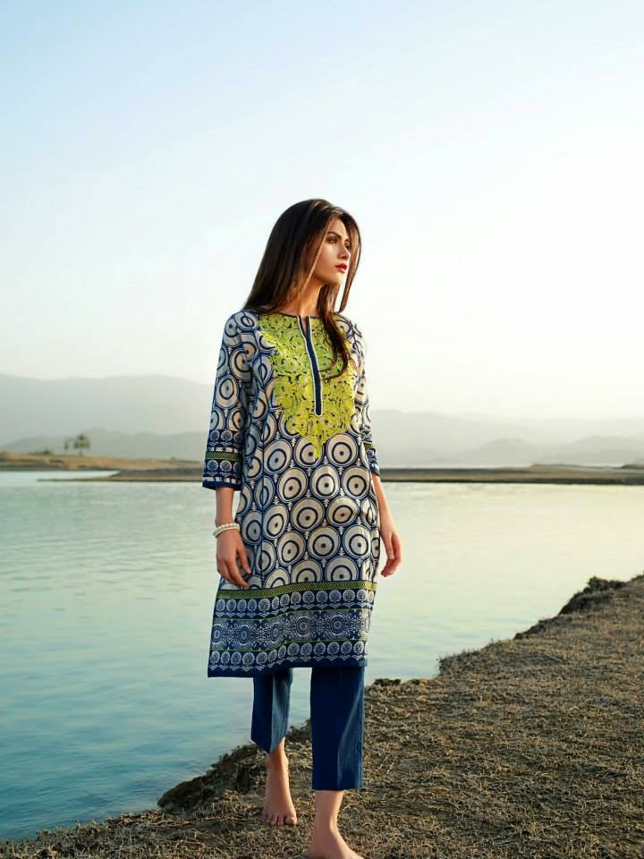 Khaadi Summer Spring Lawn Collection 2015 for Girls