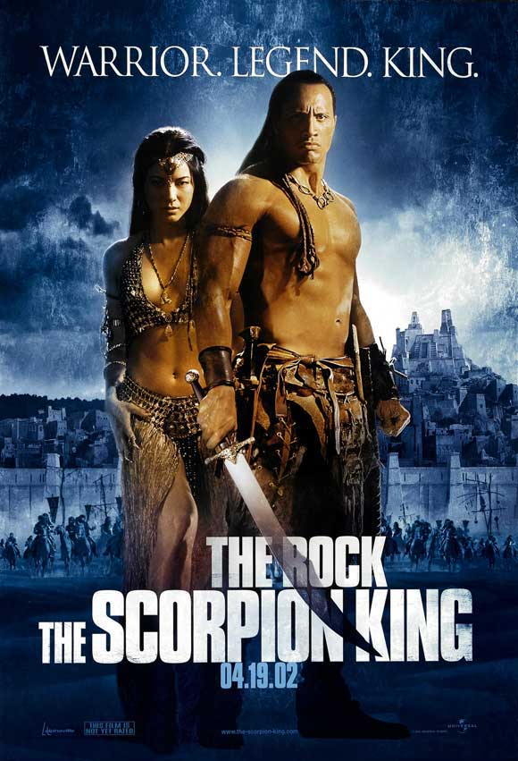 The scorpion king (El rey escorpión) (2002) Español Latino