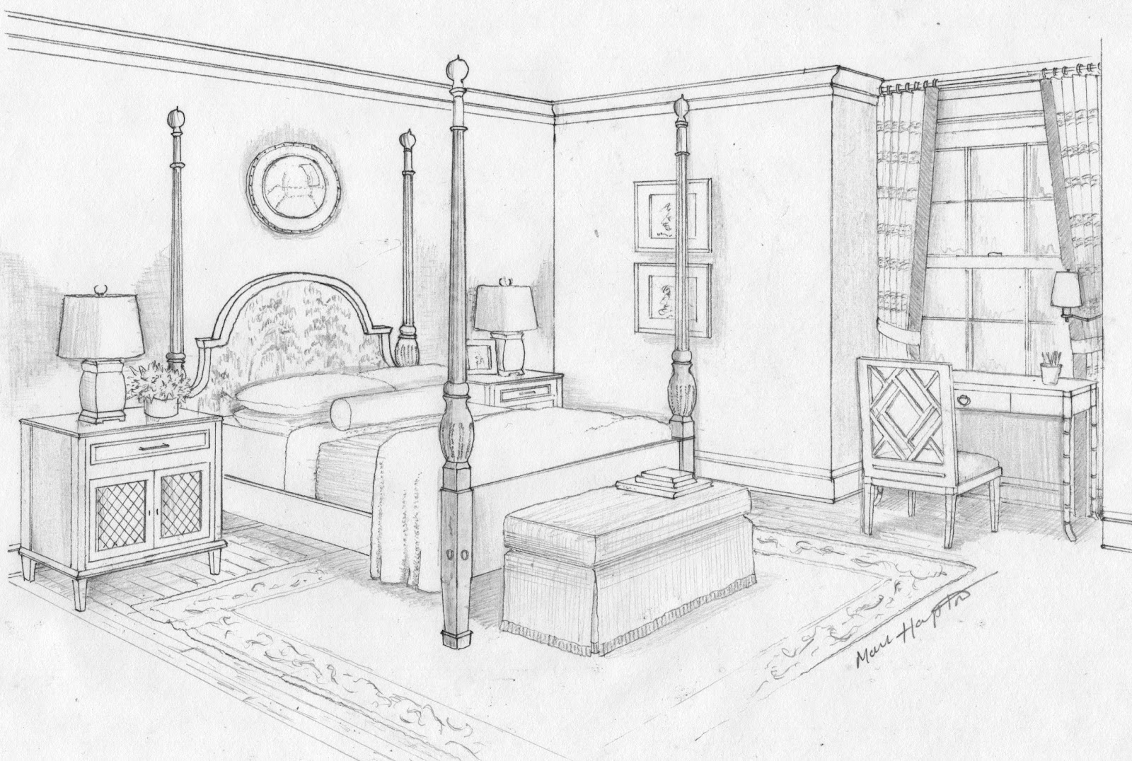 Gallery For gt Interior Design Bedroom Drawings