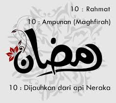 10 Hari Pertama Ramadhan