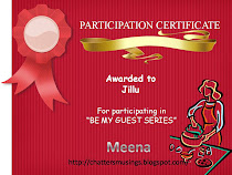 Participation certificate for Guest Post