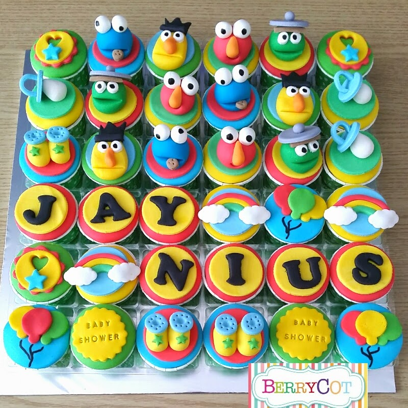 Sesame Street Baby Shower For Jaynius