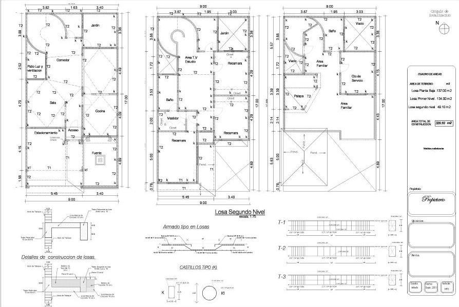 Planos arquitectonicos sena estructurales for Que es un plano arquitectonico