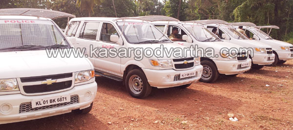 Police Special Package Vehicle, Tavera, Kasaragod