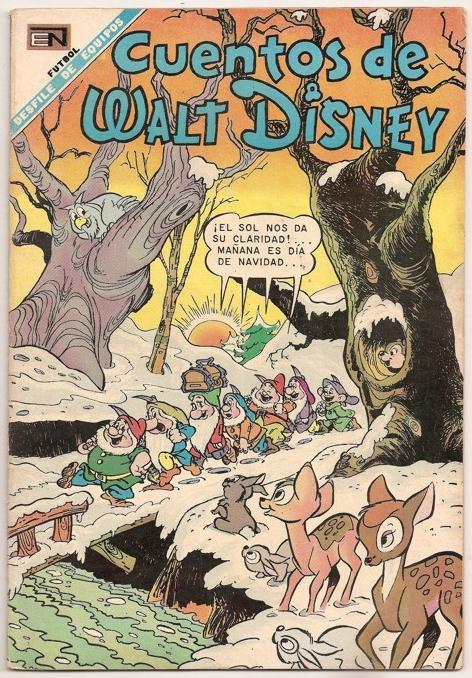 8eac1cd859 Filmic Light - Snow White Archive  Seven Dwarfs Mexican Comic ...