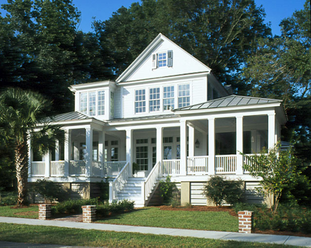 Country dream home isn 39 t it just darling for Carolina house plans