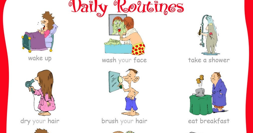 lesson plan daily routines This lesson introduces students to spanish vocabulary for everyday activities and routines students will watch a video lesson, play a game of.