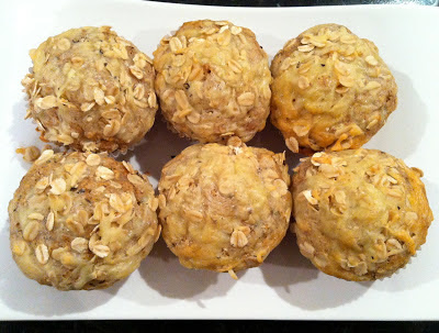 Pepper & Cheddar Oat Muffins @ SouthernSpoon blog