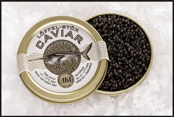 Caviar, Makanan Termahal Dari Austria