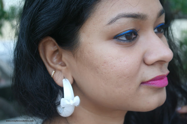White Bow earrings from Monoprix, Paris