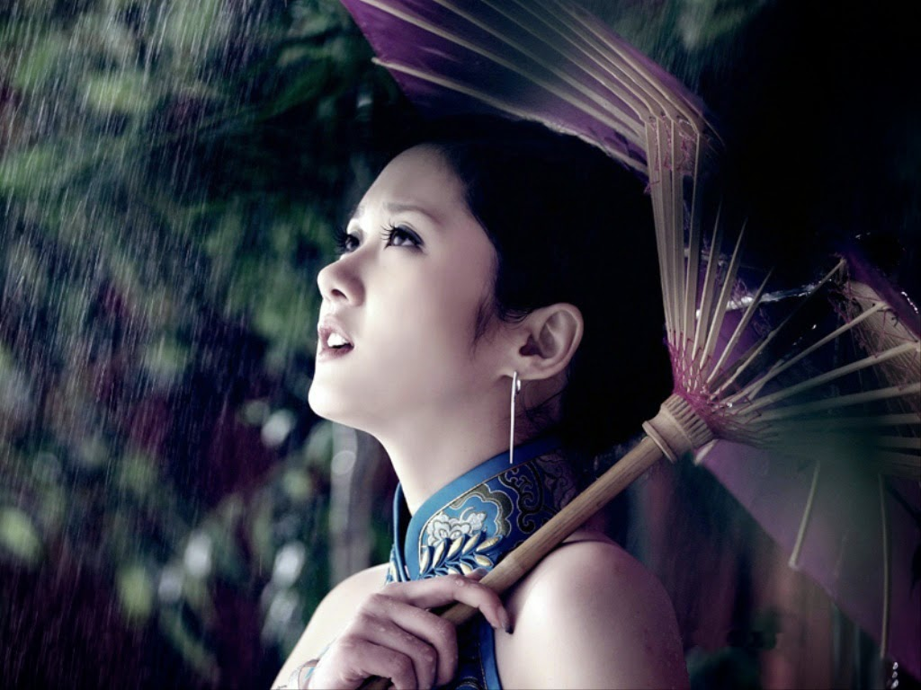 Rain Love Girl Wallpaper : Girl in rain wallpapers Most beautiful places in the ...