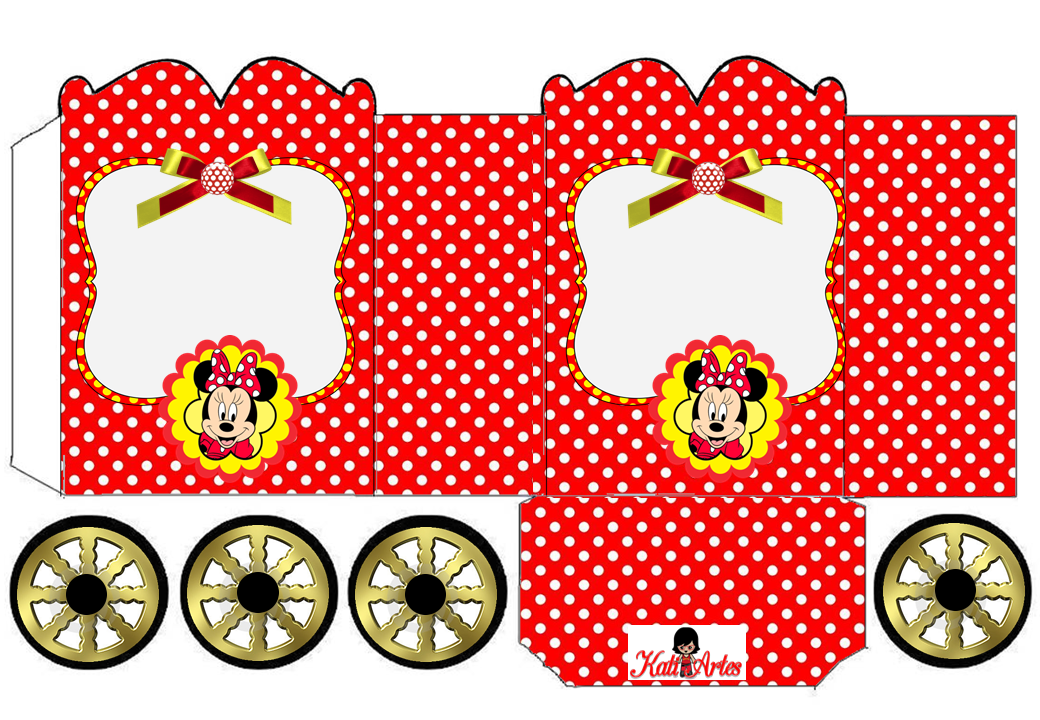 Free Printable Minnie Mouse Boxes