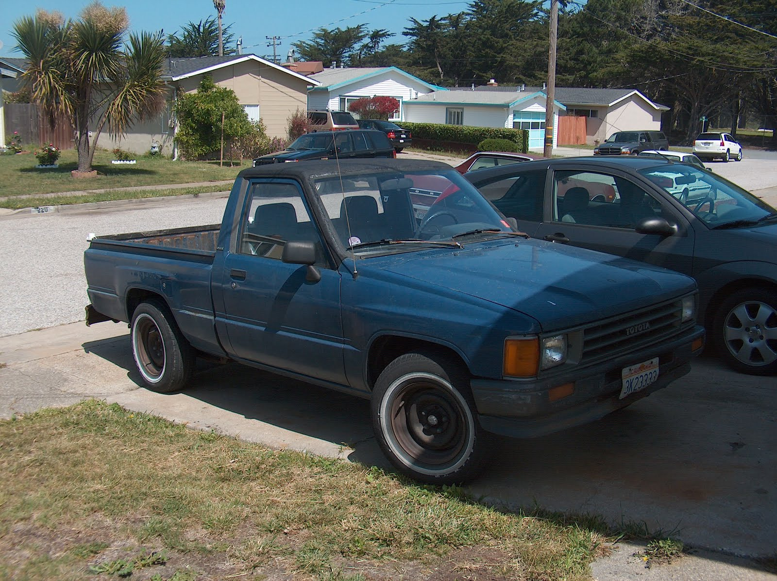 have a 1987 Toyota truck.